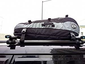 TREK 'N' RIDE Car Roof Luggage Bag (Multicolour)