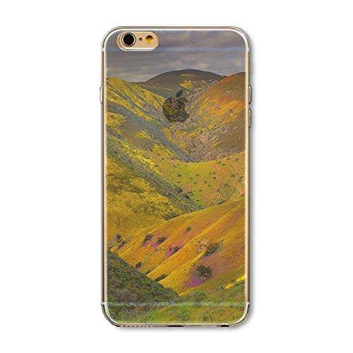 Coque iPhone 7 Housse étui-Case Transparent Liquid Crystal en TPU Silicone Clair,Protection Ultra Mince Premium,Coque Prime pour iPhone 7-Paysage-style 10 5