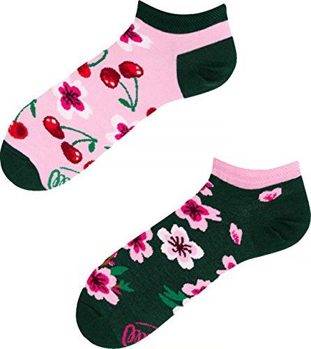 Blossom Socken (Many Mornings Cherry Blossom Low Damen Socken (35-38, Cherry Blossom))