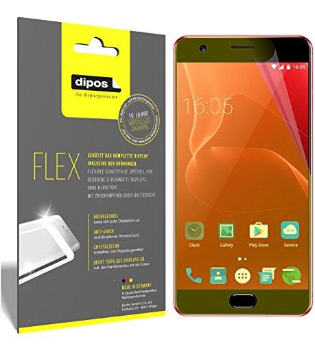 dipos I 3X Schutzfolie 100% passend für Elephone P8 Max Folie (Vollständige Bildschirmabdeckung) Bildschirmschutzfolie