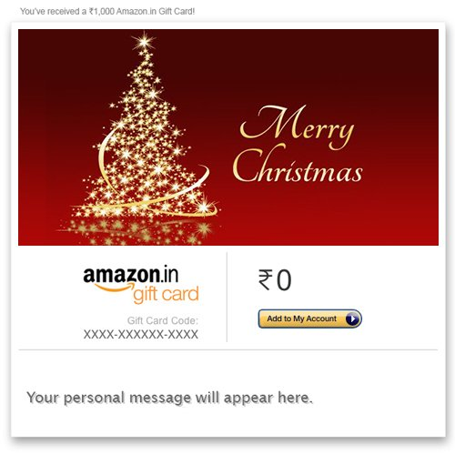 1 24 of 304 results for gift cards for occasions christmas - Amazon Christmas Gift
