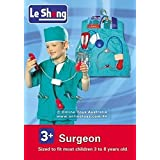 Fancydresswale Premium Community Helper Theme Costume For Fancy Dress Competitions, Role Play And School Functions For Kids (Surgeon, 4-7 Years)