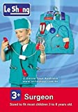 #7: Fancydresswale Premium Community Helper Theme Costume for Fancy Dress Competitions, Role Play and School Functions for Kids (Surgeon, 4-7 Years)