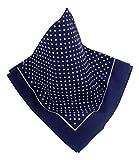 Nickituch im beliebten Punktmuster, klares Design das immer passt, Farbe: Marineblau