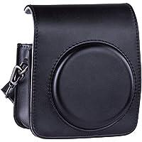 [Fujifilm Instax Mini 90 Custodia]- ZWOOS Materiale PU Custodie e Borse Per Fujifilm Instax Mini 90 Fotocamera Istantanea (Nero)