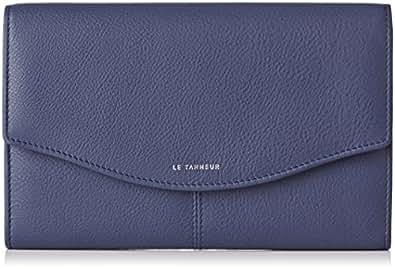 Le Tanneur Portefeuille Valentine TTV3603, Bleu (B1), 2x13x19 cm (W x H x L)