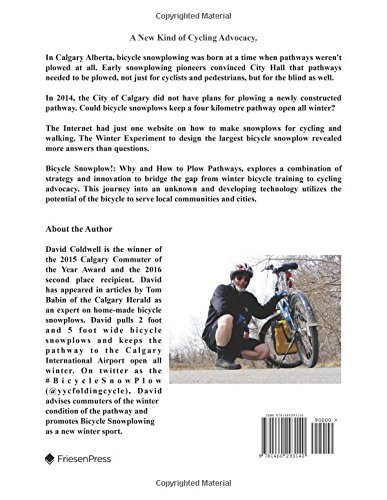 Bicycle Snowplow!: Why and How to Plow Pathways