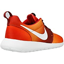 sneakers for cheap 0b364 2ea16 Nike Roshe Run Print Uomo Arancio 655206-816 Orange - 43