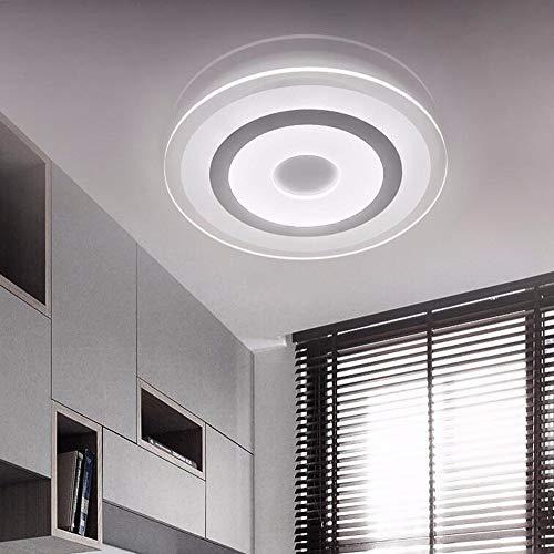 WenMing Kinder Kinder Beleuchtung Deckenleuchten Hause Led Slim Esstisch Licht Stufenlos Dimmen 42Cm Schlafzimmer Lampe - 42 Runde Esstisch