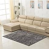 SX-ZZJ %Teppich Rechteckige Teppich Verschlüsselung Dicker Nordic Teppiche Wohnzimmer Couchtisch Teppich Liege Bett Teppich GeometrischeTeppiche (Farbe : A, größe : 120 * 170cm)