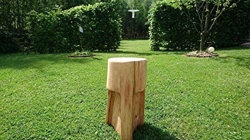 Baumstamm Hocker, Baumstamm Möbel, Gartenmöbel, Gartenhocker, Hocker, Gartendeko, Beistelltisch, Schlüßelablage, Ablage, Wohndeko, Baumstamm, Massiv Holz