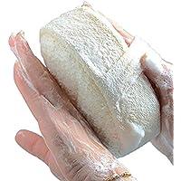 MOMEY Esponja Natural Loofah Cara Cuerpo baño Ducha SPA Exfoliante depurador Pad