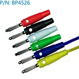 SATKIT BP4526 Conector Banana 4mm Varios Colores Disponibles