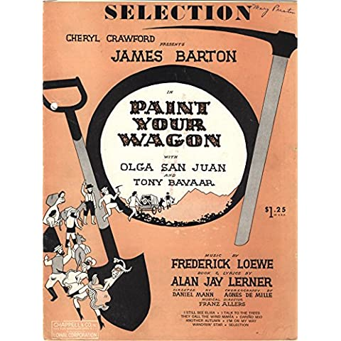 Paint Your Wagon, Piano Selection