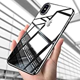 Custodia iPhone X, ikalula Crystal Caso iPhone X TPU Silicone iPhone X Bumper Case Anti-graffio Ultra Sottile Shock-Absorption Copertura Posteriore per iPhone X - Transparent