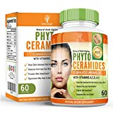 Phytoceramides - 40mg Ceramides - With Added Vitamin A C D E - Derived from Rice for Women and Men - Suitable for Vegetarians - 60 Capsules (2 Month Supply) by Earths Design