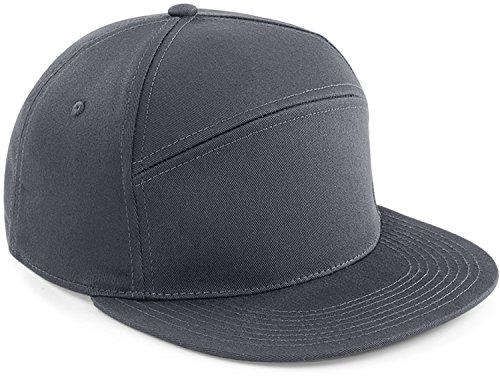 Choose Panel Damen Herren Snapback grau Cap Schirmmütze Mütze Hut Kopfbedeckung