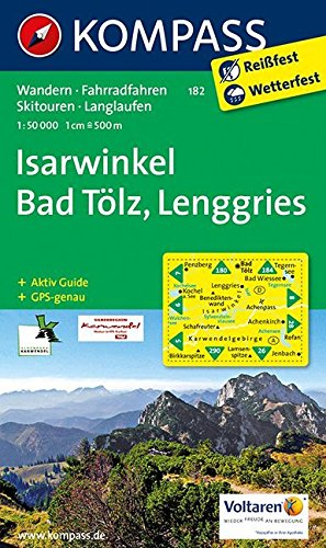 ISARWINKEL/BAD TOLZ/LENGGRIES 182  1/50.000 par COLLECTIF