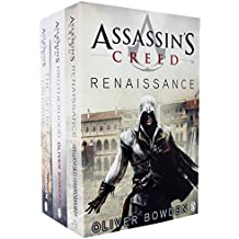 Assassins Creed 3 Books Collection set Volume 1 to 3 by Oliver Bowden (Renaissance, Brotherhood, The Secret Crusade)