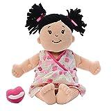 Manhattan Toy Stella Brunette Soft First Baby Doll