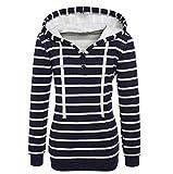 Schlinge Oberteile Tops Frauen, Mode Beiläufig Weste/Elegante Damen Sommer Rundhals T-Shirt Einfarbig Ärmellos Tanktops mit Bandagen(Blau,2XL)