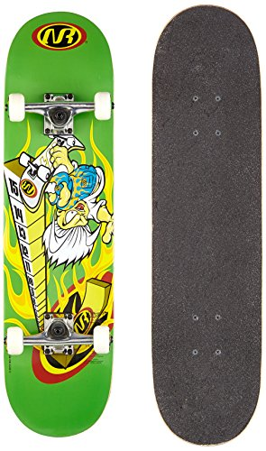 authentic sports & toys GmbH No Rules Skateboard ABEC 1, High Jump