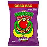 Monster Munch Pickled Onion Snacks, 40 g, Pack of 30