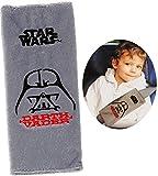 Unbekannt Gurtschoner / Gurtpolster -  Star Wars - Darth Vader  - Gurtschutz - für Sicherheitsgurt als Gurt Polster - für Auto / Kindersitz - Schoner Autositz - Kinde..