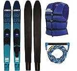 Jobe Hemi Combo Skis Package Wasserski Paarski Comboski Slalomski 165cm