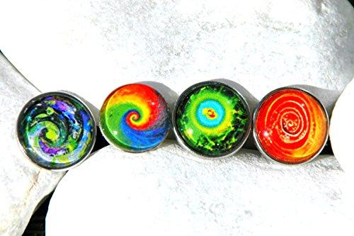 Spirals Chunks Series Druckknopf Clicks Charm Chunk Klicks Snap Button Leder Chunks Noosa kompatibel, Click Button Der Preis ist für eine Chunk