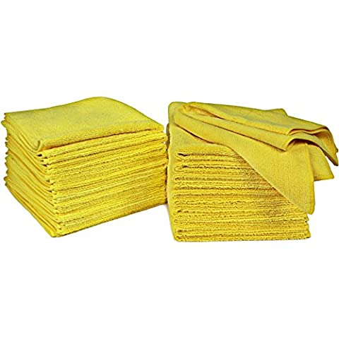 Kirkland Signature 36 Pack Ultra Plush Microfibre Cleaning Cloth Towels, 2 of Such Pack