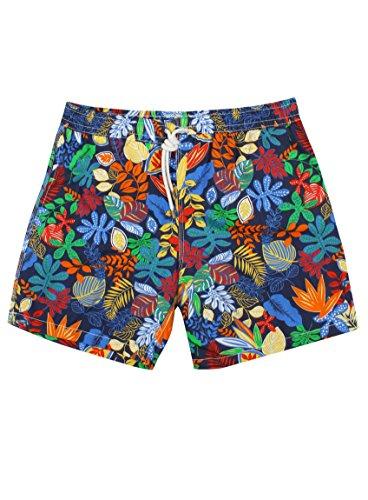 hartford-multi-leaf-swim-shorts-m