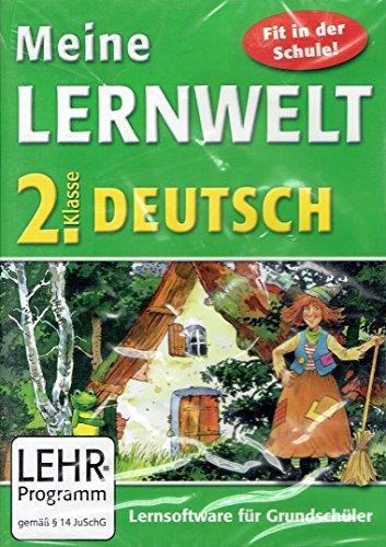 Paletti, Meine Lernwelt Deutsch 2. Klasse, Lernsoftware für die Grundschule, CD