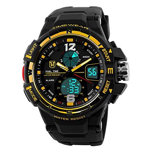 Timewear Analog Digital Multi function Premium Sports Watch for Men and Boys