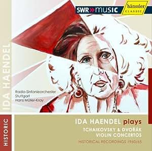 Ida Haendel Joue Tchaikovski Et Dvorak