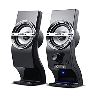 Audiocore AC805 Stereo Speakers 2.0 PC 6W RMS Black