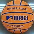 Water Polo Ball. Mega. Orange design. Size 5