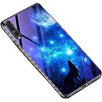 Huawei P20 Pro Hülle,Huawei P20 Pro Case,Huawei P20 Pro Gehärtetes Glas Schützhülle, Katech Überzug Weiche Crystal... preisvergleich bei billige-tabletten.eu