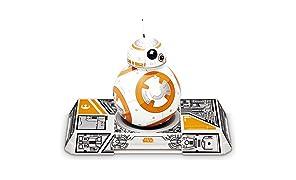 Sphero Star Wars BB‑8 avec Droïde Trainer - Commandé par Application