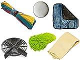 XtremeAuto® 6 STAGE, Complete Washing and Polishing Kit for Car and Motorbike! Bucket Grit Guard, Sponge Wash, Microfiber Cloths, Polish Pad and Luxury Plush Buffing Towel. - XtremeAuto - amazon.co.uk