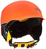 Alpina Kinder Skihelm Spam Cap, Orange (Crazy Orange Matt), 51-54 cm, 9064142