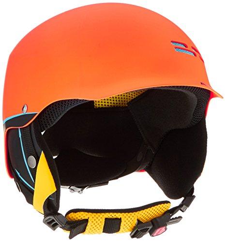 Alpina Kinder Skihelm Spam Cap, Orange (Crazy Orange Matt), 51-54 cm, 9064142