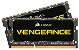 Corsair cmsx16gx3 m2 C1866 C11 Vengeance 16 GB (2 x 8 GB) DDR3L 1866 MHz C11 204 Pin SODIMM Performance Notebook-Speicher-Kit, Schwarz