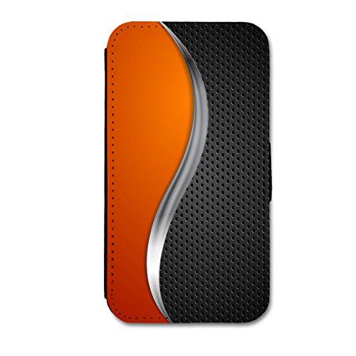 Book Style Flip Handy Tasche Case Schutz Hülle Schale Motiv Foto Etui für Apple iPhone 6 Plus - 5,5 Zoll - X3 Design1 Design 6