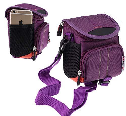 Navitech Violet Kameratasche Fall für die Nikon Coolpix B500 Camera