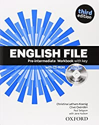 English File Pre-intermediaire Workbook with key (1Cédérom)