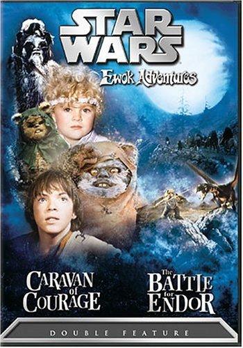 Star Wars Ewok Adventures - Caravan of Courage / The Battle for Endor by Eric Walker