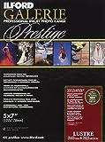 Ilford Prestige Lustre Lot de 100feuilles de papier photographique 13x18cm 260g