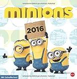 Minions Posterkalender quadratisch 2016