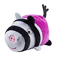 Peppa Pig Stackable Soft Plush Toy - Zoe Zebra